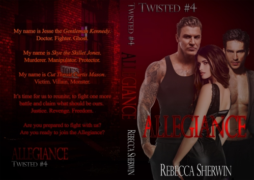 Allegiance (Twisted #4) Paperback 1